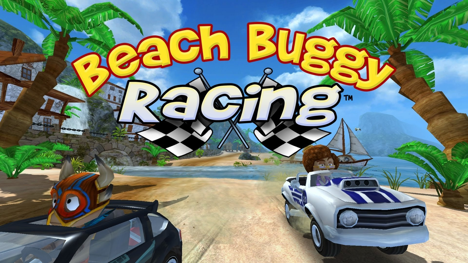 Мод для Beach Buggy Racing. Только Гонки!